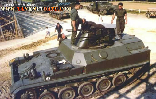 AMX-13 DCA anti aircraft vehicle