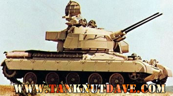 AMX-30DCA twin 30-mm self-propelled anti-aircraft gun