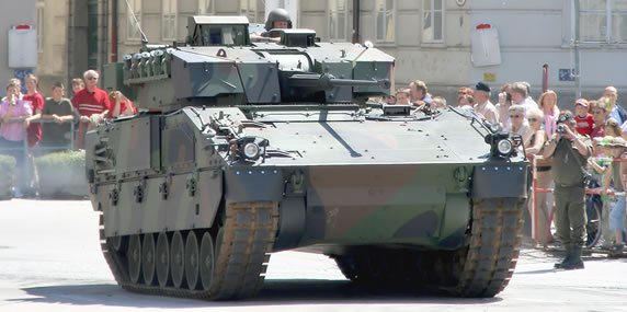 The Austrian Ulan IFV