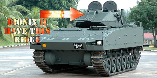 The Bionix II IFV with 30mm Main Gun