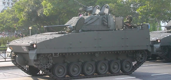 Bionix 25 IFV with 20mm Main Gun