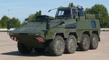 Boxer Driver Training Vehicle