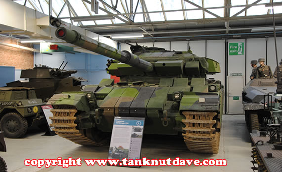 The Strv 104 at Bovington Tank Museum in the UK