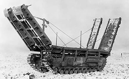 Churchill ARK (Armoured Ramp Karrier)