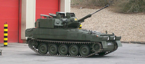 FV107 Scimitar - picture taken by site author