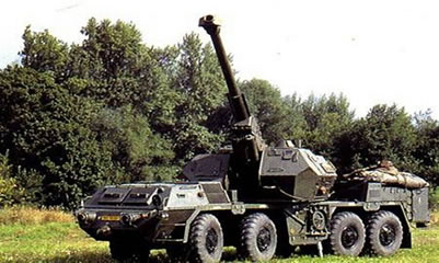 The original Dana 152mm