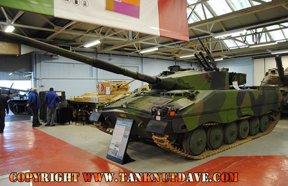 IKV-91 at Bovington, picture taken by TankNutDave