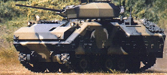 The Korean Armoured Fighting Vehicle
