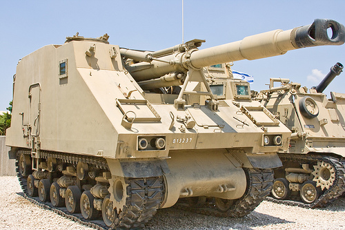 The Israeli Soltam L-33 SPG