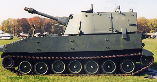 The US M108 SPG
