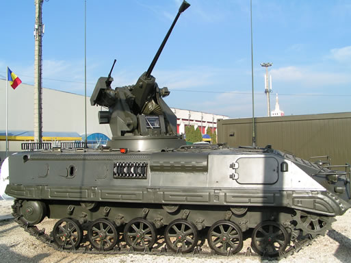 The Romanian MLVM IFV upgraded with the same Israeli designed OWS-25R turret