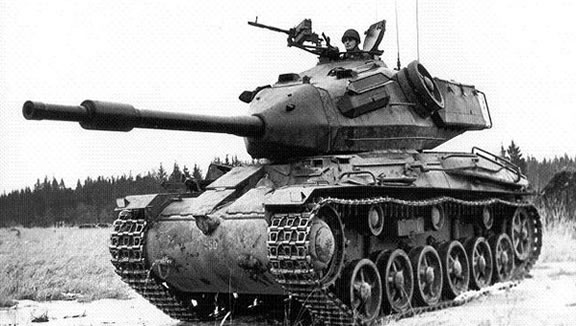 The Swedish STRV 74 Tank
