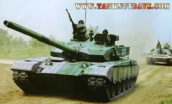 The Chinese Type 99 MBT