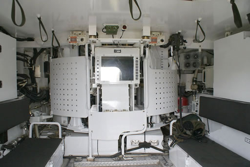 Korean K21 troop compartment