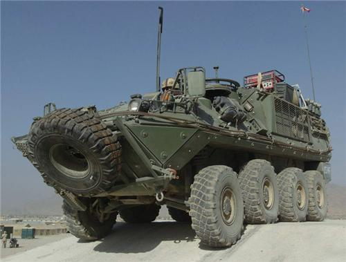 The Canadian 8x8 Bison APC
