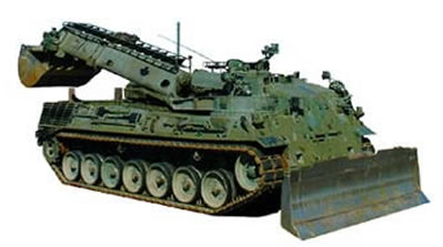 Leopard 1 Armoured Engineer Vehicle