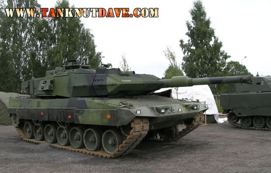 The Stridsvagn 122, AKA Leopard 2S