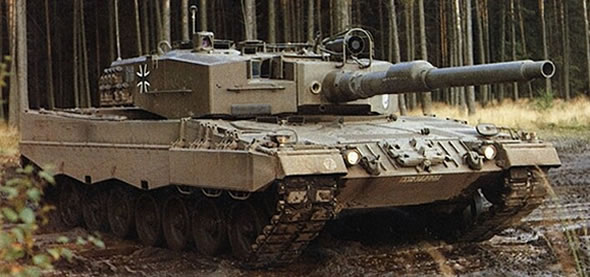 The Leopard 2A0