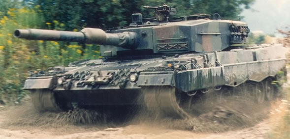 The Leopard 2A4