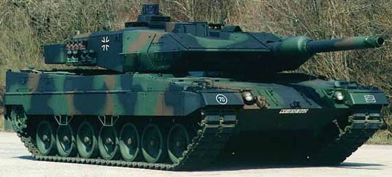 The Leopard 2A5