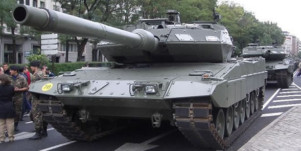 The Leopard 2A6