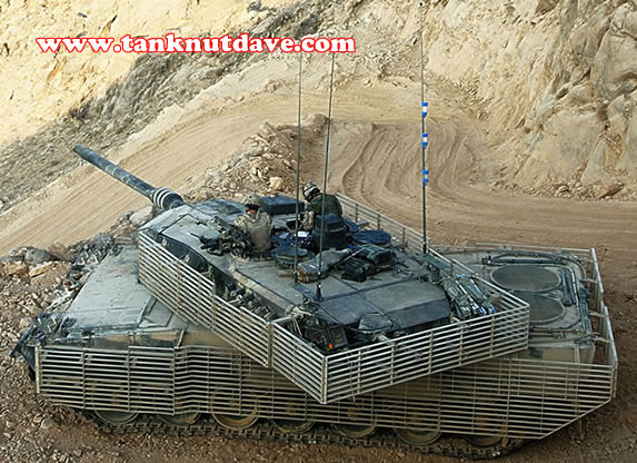 A Leopard 2A6M CAN on active service