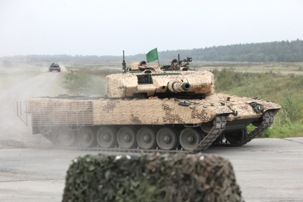 A Leopard 2A4M CAN