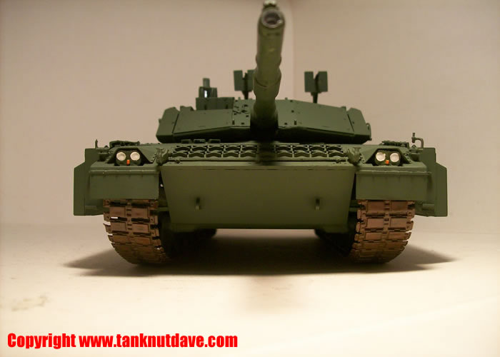 The Trumpeter Ariete MBT