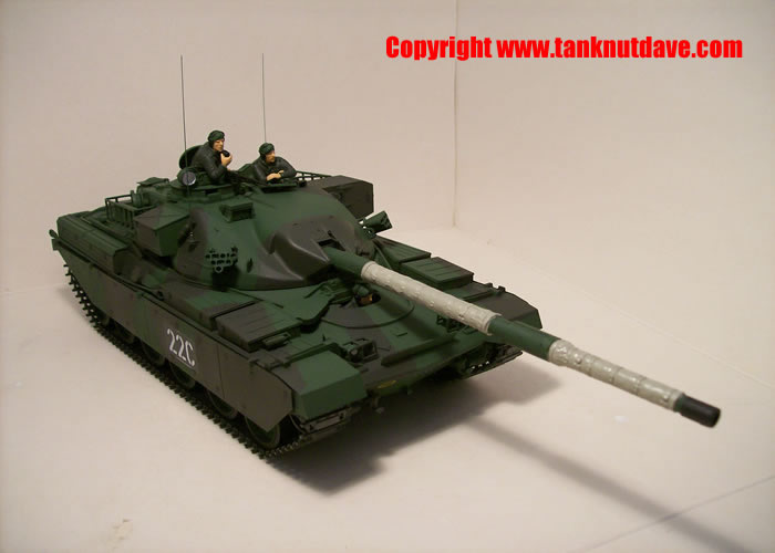 Tamiya Chieftain Mk 5 model tank