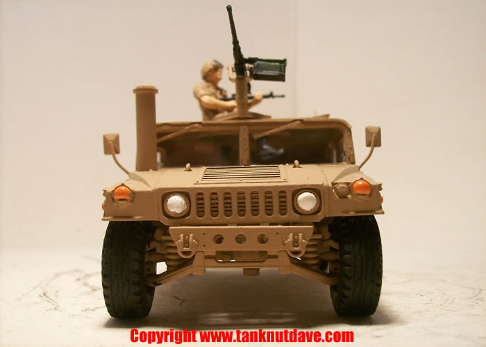 Academy US M1025 HMMWV model