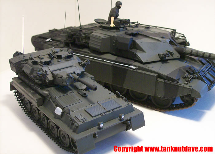 AFV club Scorpion model tank