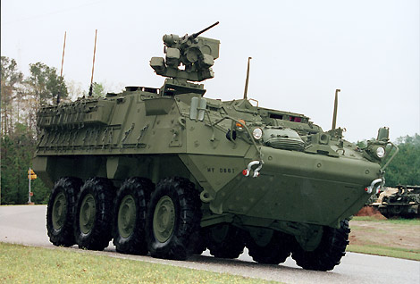M1130 Commander Vehicle