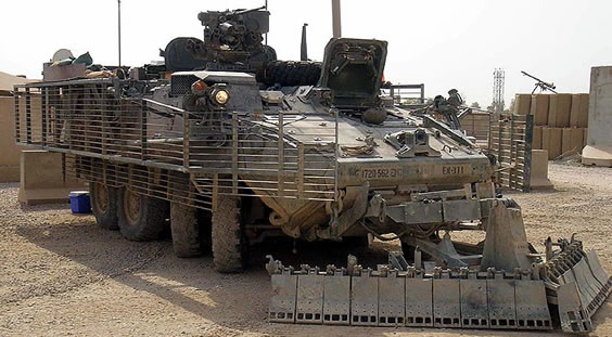 M1132 Engineer Support Vehicle