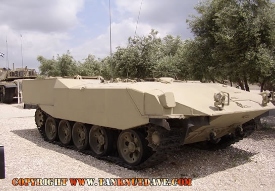 Israeli T-55 converted in to the Achzarit A.P.C.