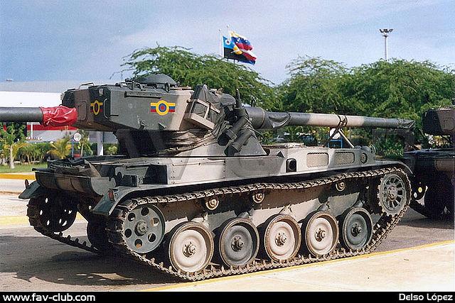 Venezuela (1988): AMX-13V