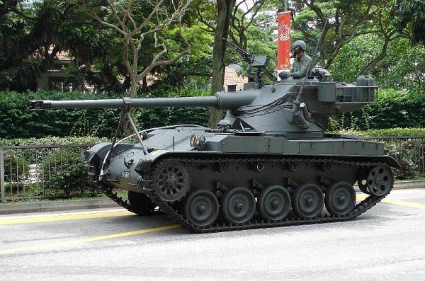 Singapore (1988): AMX-13SM1