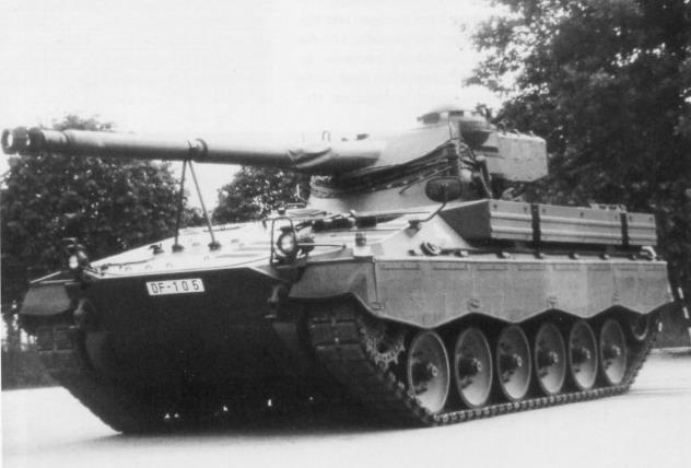 DF 105 Combat Tank