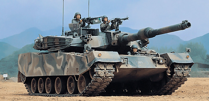 The Korean K1a1 Tank Tanknutdave Com