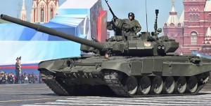 Russian T-90A Main Battle Tank