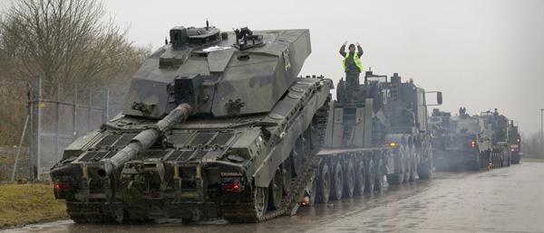New Tank Transporters