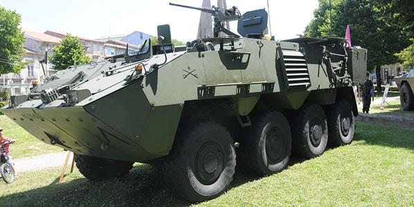 The Austrian 8x8 Pandur II - Portuguese Service