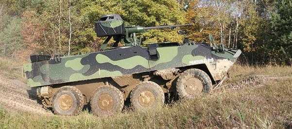 The Austrian 8x8 Pandur II - Czech Service