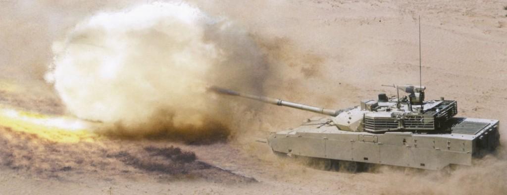 MBT-3000 Firing