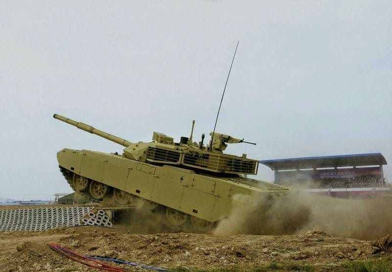 The Chinese MBT-3000 Main Battle Tank - TankNutDave.com