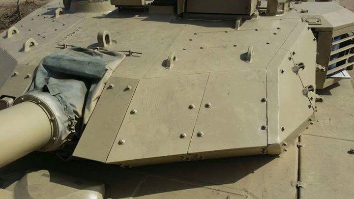 MBT-3000 Turret Armour 2014
