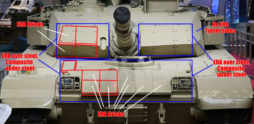 MBT-3000 Frontal Armour