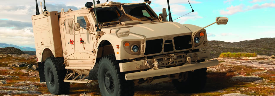 It Includes several categories such as MRAP vehicles