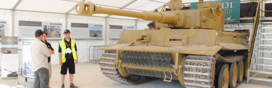 It also includes historical tanks