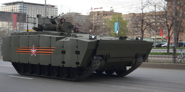 The Kurganets-25 Armoured Personnel Carrier