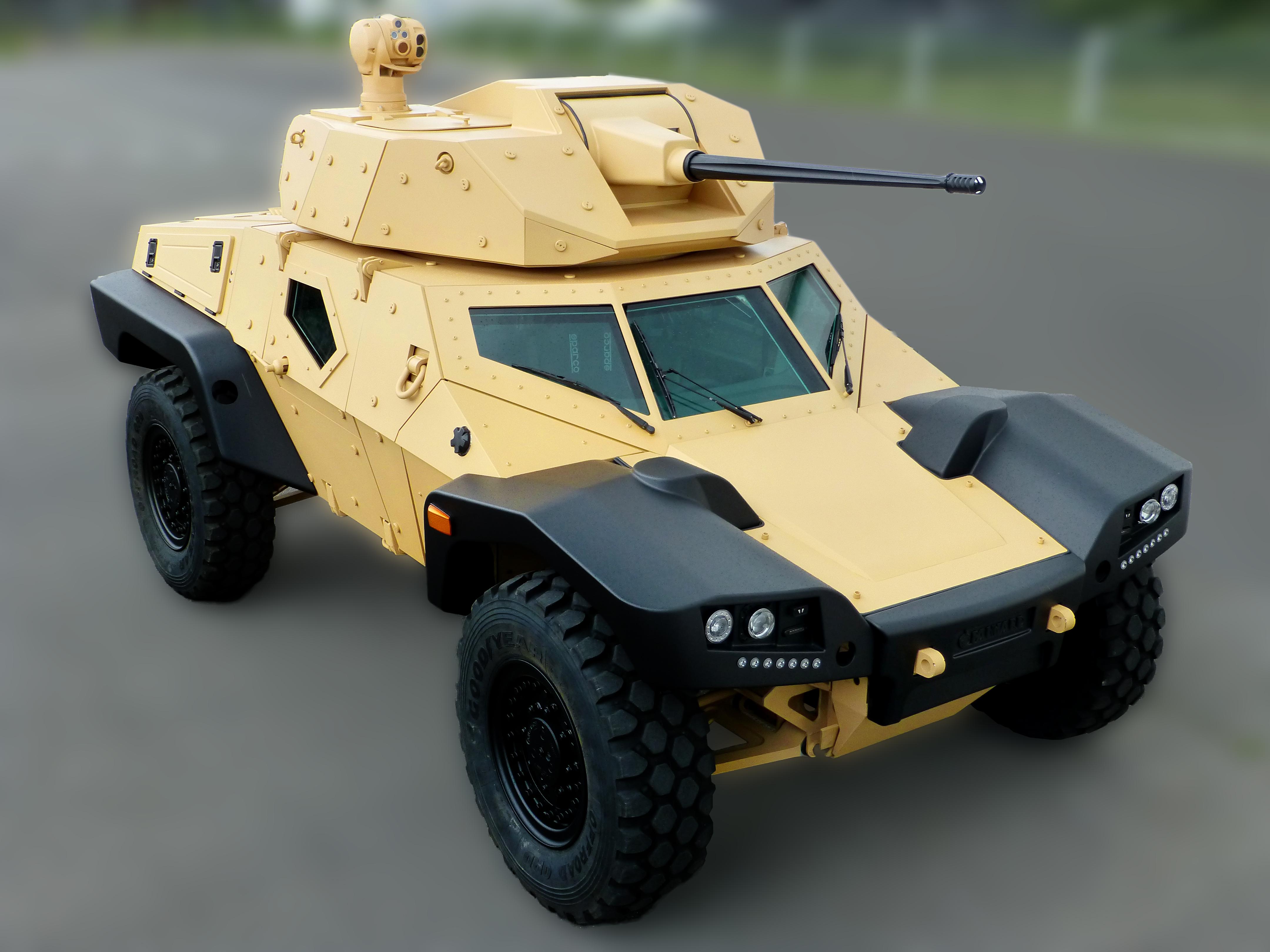 The Panhard CRAB - TankNutDave.com